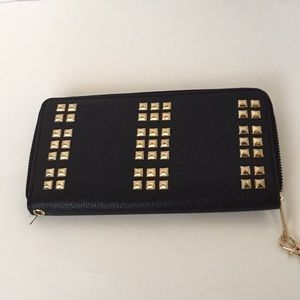 Handbags - Black and Gold wallet
